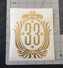 Disneyland - Club 33 vinyl car decal, sticker - NEW