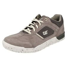 Mens Caterpillar Casual Lace up Shoes Chasm UK 6 Medium Charcoal Wide