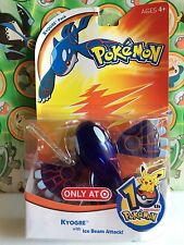Pokemon Figure Set Kyogre 10th Anniversary Exclusive Hasbro 2006 Toy     (plush