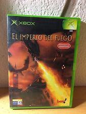 EL IMPERIO DEL FUEGO XBOX completo pal españa