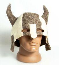 FELT HAT SAUNA Viking armor helmet Berserk Wool Halloween Gift Christmas