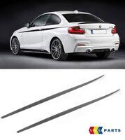 BMW NEW GENUINE F21 F22 F23 M PERFORMANCE SIDE SKIRT ROCKET PANEL COVER PAIR SET