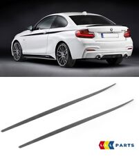 BMW NEW GENUINE F21 F22 F23 M PERFORMANCE SIDE SKIRT ROCKET PANEL COVER PAIR SET