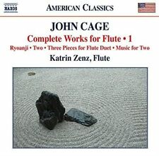 JOHN CAGE: COMPLETE WORKS FOR FLUTE, VOL. 1 NEW CD