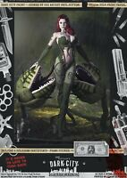 Poison Ivy Gotham SEXY Dark City Var. Signed A3 Comic Art Print DC Batman Harley