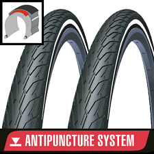 Pair of ANTI-PUNCTURE Bike Tyres 700 x 28, 32, 35, 40 - 26 x 1.75