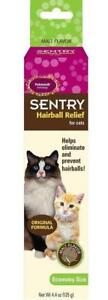 SENTRY Petromalt Cat Hairball Relief MALT Flavored 4.4 oz /125g Remedy
