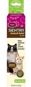 SENTRY Petromalt Cat Hairball Relief MALT Flavored 4.4 oz /125g Remedy
