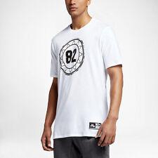 Nike Air 4 Tee Tshirt IV T-shirt Shirt NEW 834581-100 white black silver