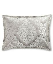 Hotel Collection Classic Embossed Jacquard Standard Sham Silver