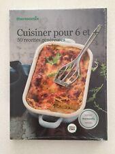 """NOUVEAU , Livre Thermomix """" Cuisiner pour 6 et + """""""