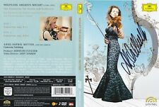 Anne-Sophie Mutter Mozart - The Violin Concertos - Signed - 2 X DVD ALL REGIONS