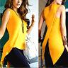 Fashion Women's Summer shirt Sleeveless Slim Blouse Casual Tops T-Shirt