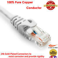 6FT 50FT 100FT CAT5E CAT5 RJ45 Ethernet Internet Network Patch Lan Cable Cord