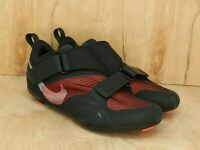 Nike SuperRep Cycle Black Red Cycling Shoes CW2191-008 Men's Size 10
