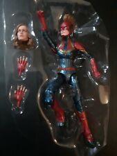 Marvel Legends CAPTAIN MARVEL figure only from Kree Sentry BAF wave Brie Larson