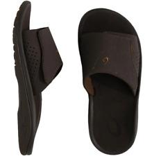 Olukai Nalu Slide Dark Java/dark JAVA Comfort Sandal Men's US sizes 7-15 NIB