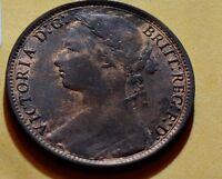 Great Britain 8K 1877 Penny VG GR0017 combine shipping