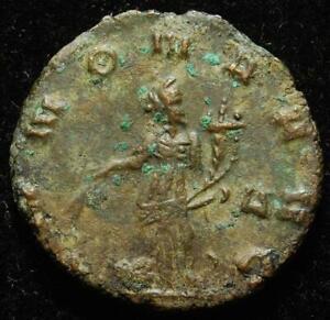 Claudius II Gothicus BI antoninianus, ANNONA AVG, Rome mint 268-269AD - RIC 19