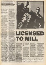 29/7/89Pgn14 Article & Picture 'licensed To Mill' Bradford Are Back & Ready To R