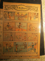 Comics Antique Newspaper 1902 Mr HENPECKED'S  BRILLIANT IDEA