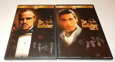 The Godfather & Godfather Part 2 Al Pacino Diane Keaton Duvall (Dvd, 3-Discs) Ws