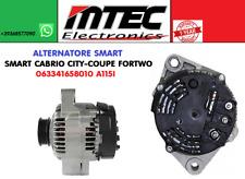 Alternatore 1 ANNO GARANZIA SMART CABRIO CITY-COUPE FORTWO 063341658010 A115I
