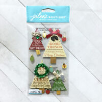 Christmas Tree Dimensional Stickers Jolee's Holiday Scrapbook Embellishments