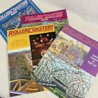 Roller Coaster Magazines Amusement Parks ACE Lot of 4 Vintage 1988 1989