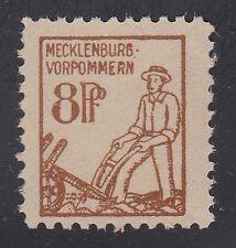GERMANY, Soviet Zone, 1945. Mecklenburg Mi 15, IV,  Mint **