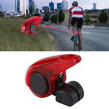 Portable Mini Brake Bike Light Mount Tail Rear Bicycle Light Cycling LED Light