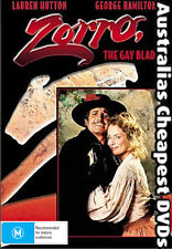 Zorro The Gay Blade  DVD NEW, FREE POSTAGE WITHIN AUSTRALIA REGION ALL
