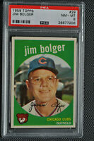 1959 Topps - Jim Bolger - #29 - PSA 8 - NM-MT