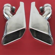 Stainless HST Exhaust tips Range Rover SPORT supercharged Diesel tailpipe pair