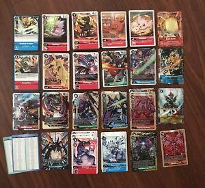 Digimon 2021 Card Game CCG Vers 1.5 Full Set - C, U, R, SR, SEC