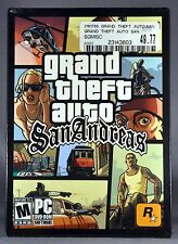Orig. Authentic Factory Sealed Grand Theft Auto SAN ANDREAS First 1st Edition PC