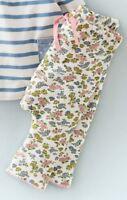 Baby Girls NEW ex Mini Boden Jersey Trousers Joggers Leggings Stripe/Plain/Flora