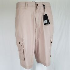 NWT Mens Cargo Shorts Size 32 by Paper Denim Cloth PD&C Cotton Desert Clay