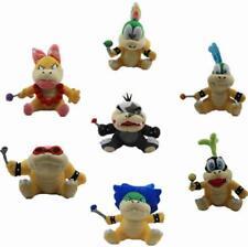 7X Super Mario Bros 3 Koopalings Larry Iggy Lemmy Roy Ludwig Wendy Morton Plush