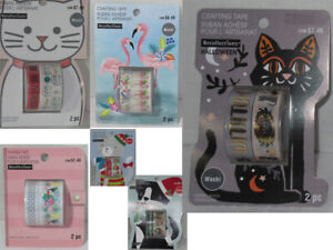 Recollections Washi Crafting Planner Tape Single package NEW u pick