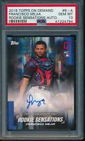 2018 Topps On Demand Rookie Sensations Francisco Mejia RC Auto PSA 10 Gem Mint