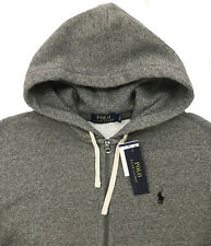 6857e39565 Men s POLO RALPH LAUREN Heather Gray Hoodie Hooded Sweatshirt 4XLT 4XT TALL  NWT