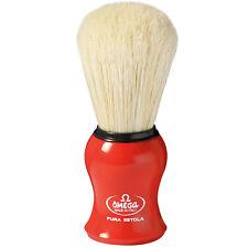 Omega 10065 - Pure Bristle Shaving Brush RED Handle