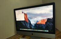 "Apple iMac A1312  27""Quad Core i7 3.4 Ghz,Ram 16GB 256 SSD DRIVE 6 M Warranty"
