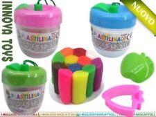 Mini Mela Plastilina Colori Con Accessori Formine Morbida Bambini Gioco dfh