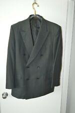 Nino Cerruti Rue Royale Mens Suit DOUBLEBREAST Gray striped 42L