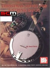 Mel Bay Christmas Songs for 5 String Banjo SONG BOOK SONGBOOK XMAS BLUEGRASS NEW