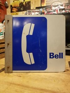 Bell Telephone flange Sign