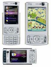 Nueva condición Nokia N95-Plateado (Desbloqueado) Teléfono inteligente Garantía +