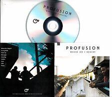 PROFUSION Where Do I Begin? 2017 UK 9-trk promo test CD
